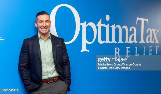 David King CEO of Optima Tax Relief in Santa Ana on Monday October 29 2018 Optima Tax Relief has been named one of the Orange County Register's Top...