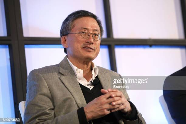 David King chief executive officer of Foghorn Systems Inc speaks during The Montgomery Summit in Santa Monica California US on Wednesday March 8 2017...