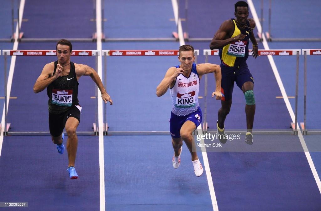 GBR: Muller Indoor Grand Prix - IAAF World Indoor Tour