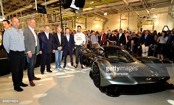 David King Vice President Chief Special Operations Officer Aston Martin Lagonda Ltd Marek Reichman Executive Vice President Chief Creative Officer...
