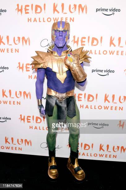 David Kirsch attends Heidi Klum's 20th Annual Halloween Party presented by Amazon Prime Video and SVEDKA Vodka at Cathédrale New York on October 31...