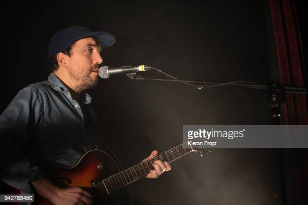 David Kitt performs live at the Button Factory on April 6, 2018 in Dublin, Ireland.