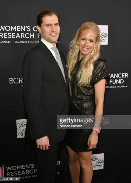David Klein CEO of De Grisogono USA and Lisa Klein President of De Grisogono USA attend WCRF's 'An Unforgettable Evening' Presented by Saks Fifth...
