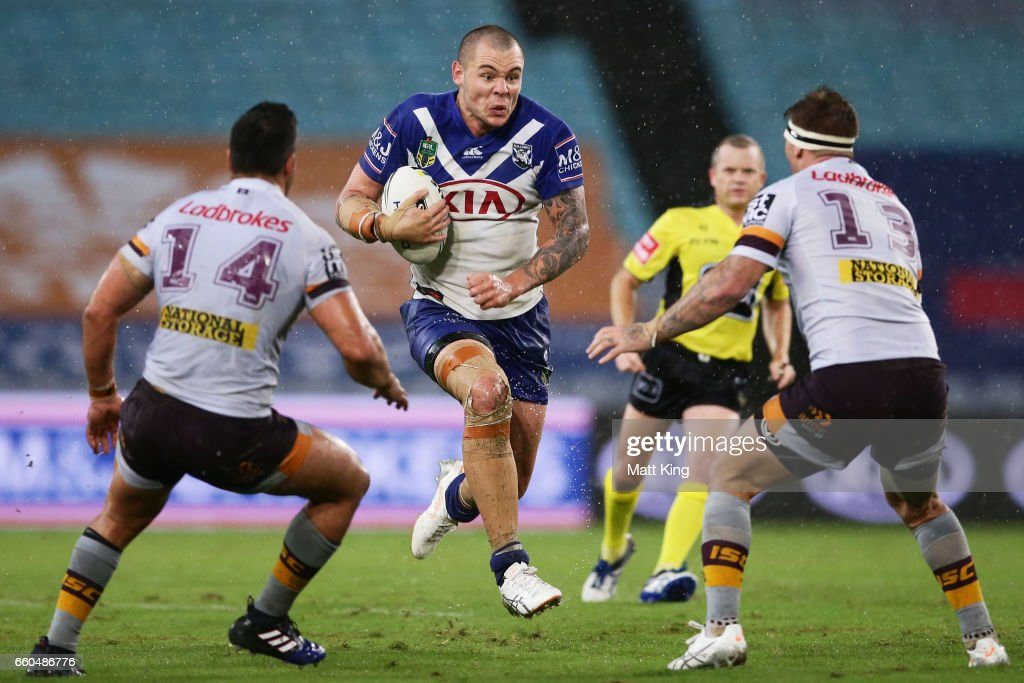 NRL Rd 5 - Bulldogs v Broncos : News Photo