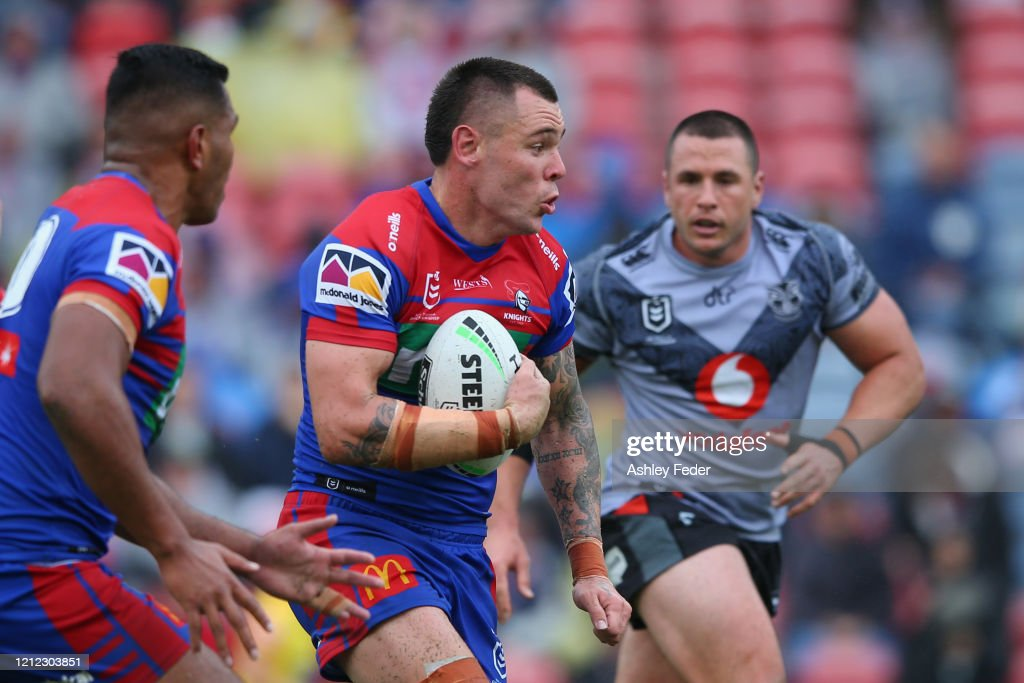 NRL Rd 1 - Knights v Warriors : News Photo