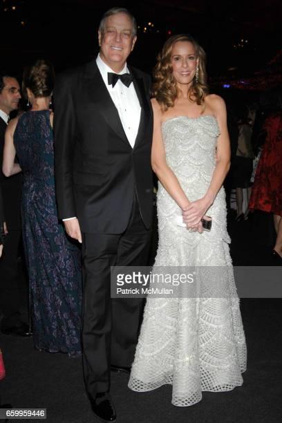 David Koch and Julia Koch attend AMERICAN BALLET THEATRE Annual Spring Gala Underwritten by CAROLINA HERRERA Ltd and Graff at Metropolitan Opera...