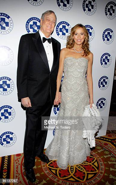 David Koch and Julia Koch attend the 2009 Annual Food Allergy Ball at The Waldorf=Astoria on December 7 2009 in New York City