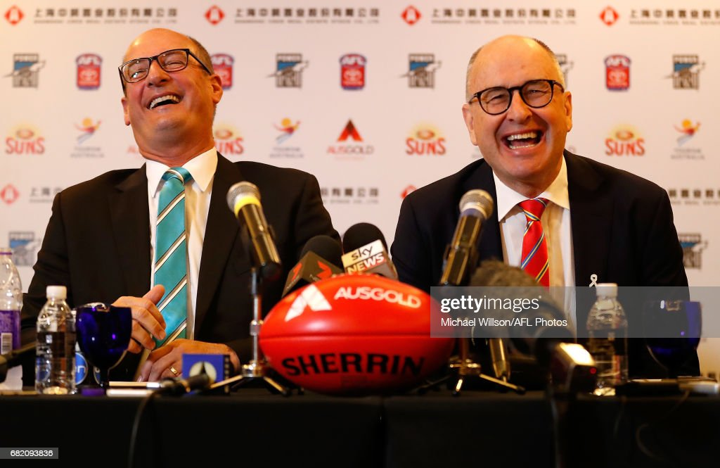 Chairman CEO Press Conference - Gold Coast v Port Adelaide