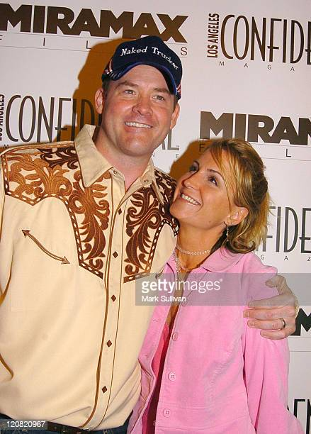 David Koechner and wife Leigh during Miramax Films Los Angeles Confidential Magazine Present the Los Angeles Premiere of Daltry Calhoun at Mann...