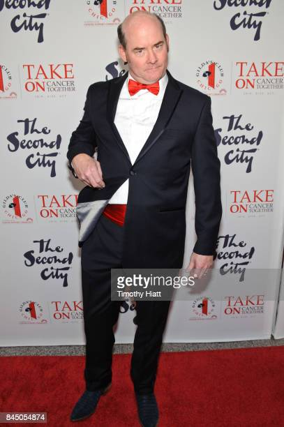 David Koechner attends I Can't Believe They Wendt There The Roast Of George Wendt on September 9 2017 in Chicago Illinois