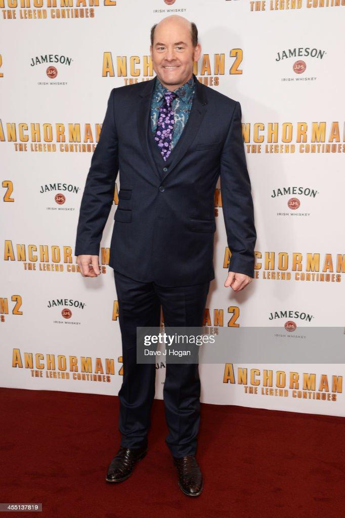 """""""Anchorman 2: The Legend Continues"""" - UK Premiere - Inside Arrivals"""