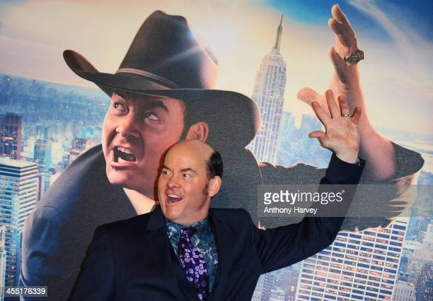 David Koechner attends the UK premiere of Anchorman 2 The Legend Continues at Vue West End on December 11 2013 in London England