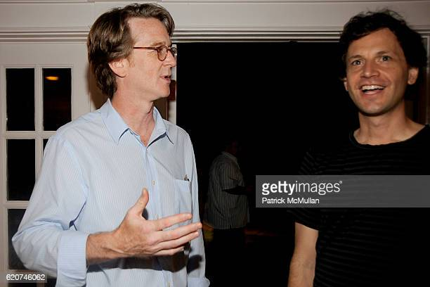 David Koepp and Bennett Miller attend DreamWorks Pictures Screening of GHOST TOWN and After Party Hosted by SARA and PATRICK HANDREKE at GOOSE CREEK...