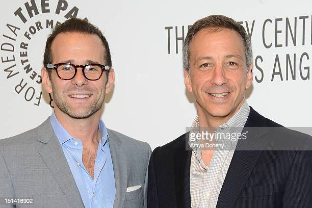 David Kohan and Max Mutchnick attend the Paley Center For Media's 2012 PaleyFest Fall TV Preview Party for CBS Televisions 'Partners' at The Paley...