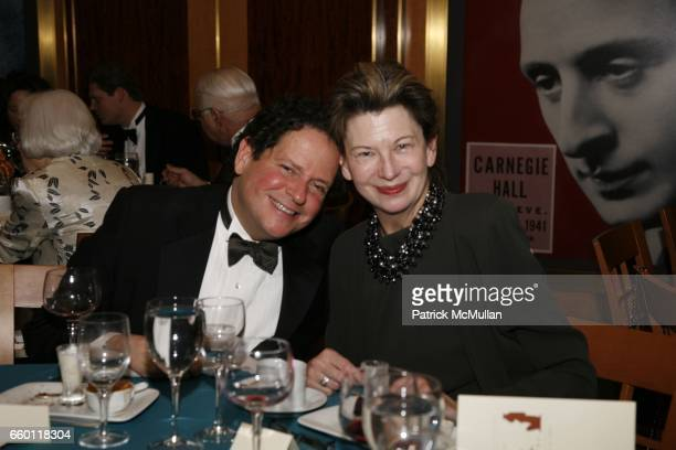 David Kohlberg and Lynn Loacker attend NEW YORK CITY OPERA Winter Gala at Carnegie Hall on January 15 2009 in New York City