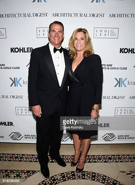 David Kohler and Laura Kohler attend the 2016 Kips Bay President's Dinner at Cipriani 42nd Street on April 4, 2016 in New York City.