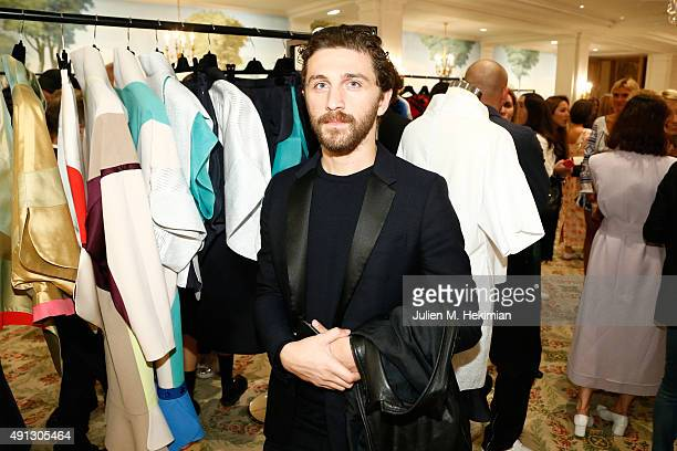 David Koma attends Buro 24/7 Family Presentation of 9 Fashion Designers from Russia Ukraine and Kazakhstan at Hotel Bristol on October 4 2015 in...