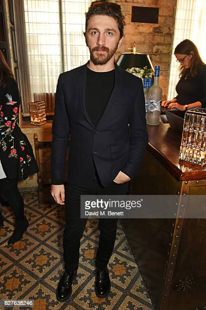 David Koma attends The Fashion Awards in partnership with Swarovski nominees' lunch hosted by the British Fashion Council with Grey Goose at Little...