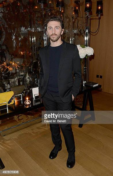 David Koma attends the Frieze Dinner hosted by Mugler for their handbag line launch at Rosewood London on October 15 2015 in London England