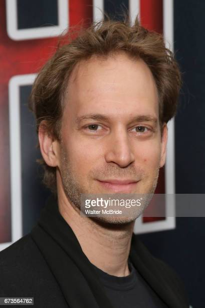 David Korins attends the Broadway opening night performance of 'Bandstand' at the Bernard B Jacobs Theatre on 4/26/2017 in New York City