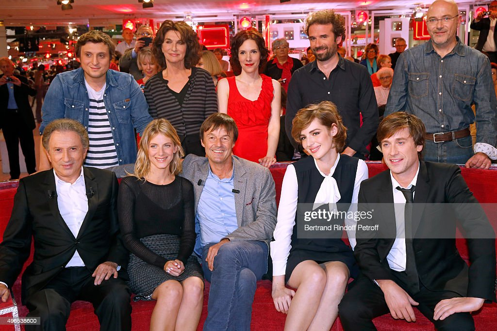 'Vivement Dimanche' French TV Show At Pavillon Gabriel In Paris : News Photo
