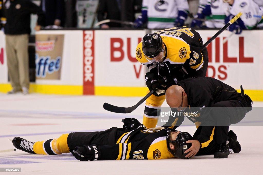 Vancouver Canucks v Boston Bruins - Game Three