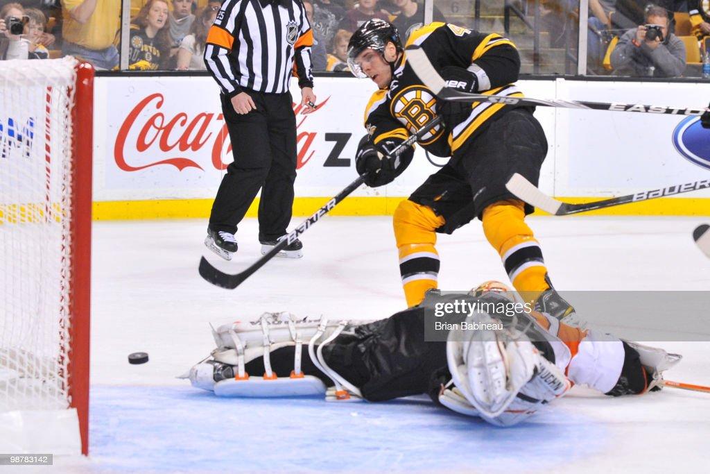 Philadelphia Flyers v Boston Bruins - Game One