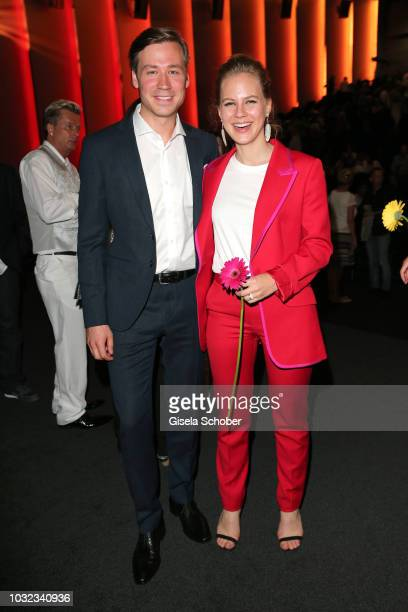 David Kross and Alicia von Rittberg during the premiere of the film 'Ballon' at Mathaeser Filmpalast on September 12, 2018 in Munich, Germany.