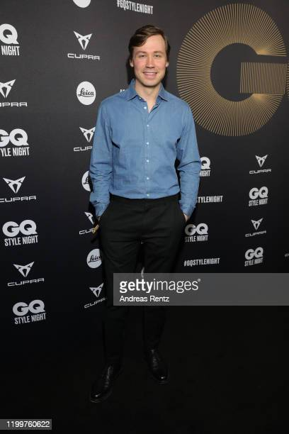 David Kross attends the GQ Style Night during Berlin Fashion Week Autumn/Winter 2020 at BRICKS Berlin on January 15, 2020 in Berlin, Germany.