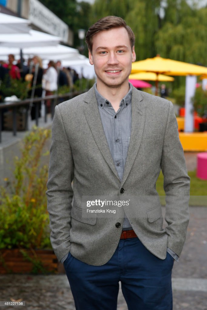 David Kross attends the producer party 2014 (Produzentenfest) of the Alliance German Producer - Cinema And Television on June 25, 2014 in Berlin, Germany.