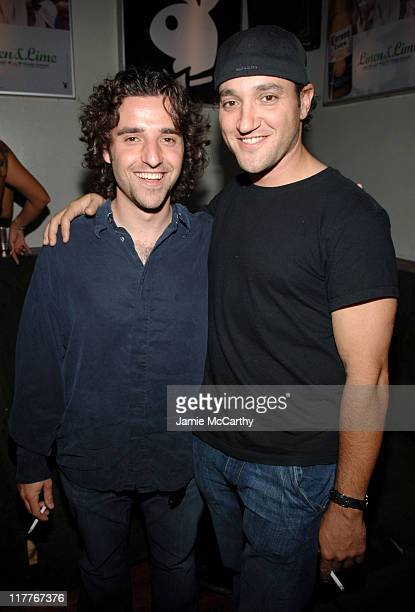 David Krumholtz and Greg Bello during Playboy Party with July Issue Cover Girl Vida Guerra at Stereo in New york City New York United States