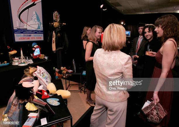 David Krumholtz and guest during The Silver Spoon Gift Lounge at The 32nd Annual People's Choice Awards at The Shrine Auditorium in Los Angeles CA...