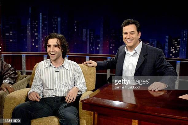 David Krumholtz and Host Jimmy Kimmel on the 'Jimmy Kimmel Live' show on ABC Photo by Jaimie Trueblood/WireImage/ABC