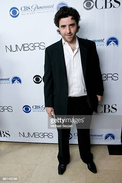 David Krumholtz arrives at the 'NUMB3RS' 100th Episode Bash at the Sunset Tower Hotel on April 21 2009 in West Hollywood California