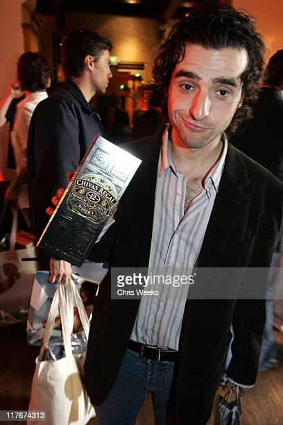 David Krumholtz at Chivas Regal during Silver Spoon PreOscar Hollywood Buffet Day Two at Private Residence in Los Angeles California United States...