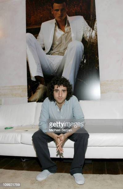 David Krumholtz at Hugo Boss during THE HOUSE OF FLAUNT OSCAR RETREAT Day 4 at Private Residence in Los Angeles CA United States