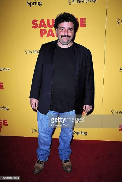 David Krumholtz attends 'Sausage Party' New York premiere at Sunshine Landmark on August 4 2016 in New York City