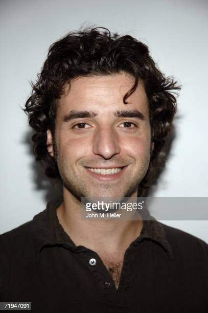 """David Krumholtz attends the world premiere of """"The Godfather The Game"""" on the XBox 360 at the Stone Rose Lounge on September 19, 2006 in Los Angeles,..."""