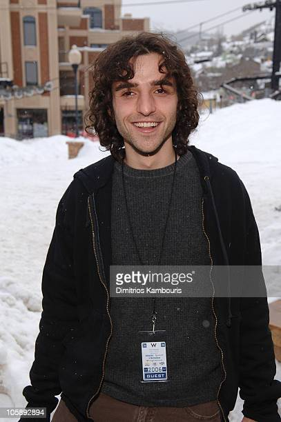 David Krumholtz during 2006 Park City Cafe Yahoo and W Hotel Lounge at Village at the Lift Day 3 at Village at the Lift in Park City Utah United...