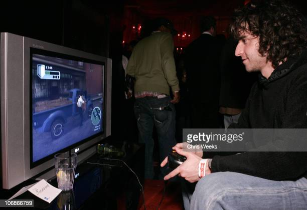David Krumholtz during EA Paramount Pictures Host 'The Godfather The Game' Launch Party Inside at Privilege in West Hollywood California United States