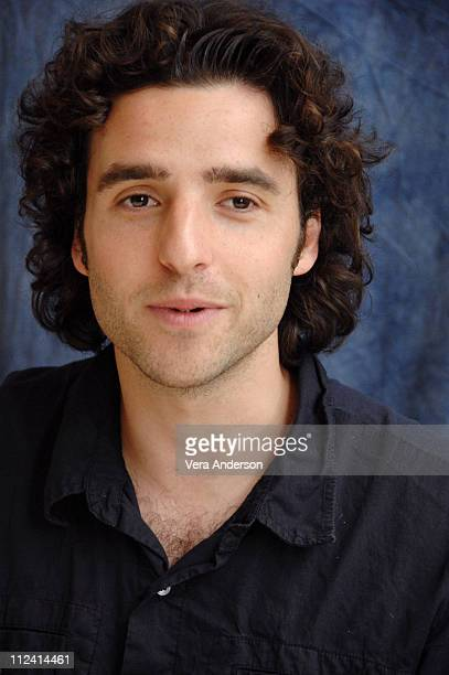 David Krumholtz during 'Numb3rs' Press Conference with Rob Morrow and David Krumholtz at The Four Seasons in Beverly Hills California United States