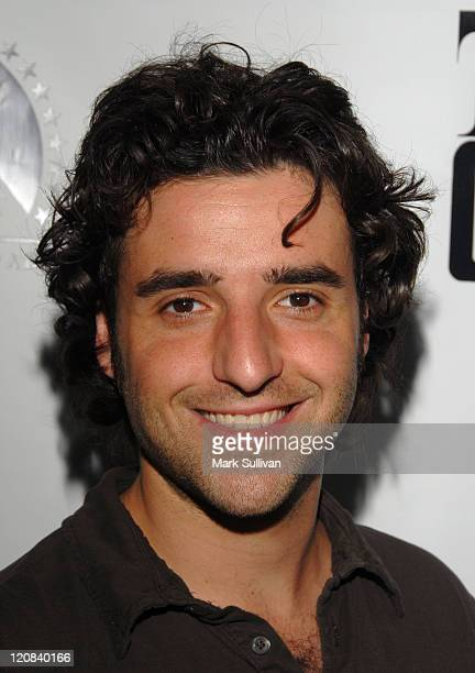 David Krumholtz during World Premiere of 'The Godfather the Game' on XBOX 360 Arrivals at Stone Rose Lounge in Los Angeles California United States