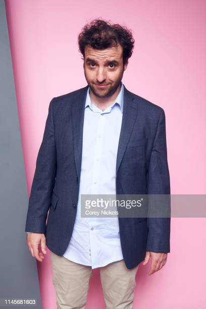 David Krumholtz of the film 'Crown Vic' poses for a portrait during the 2019 Tribeca Film Festival at Spring Studio on April 27 2019 in New York City