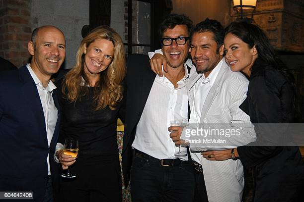 David Kuhn Madeline Weeks Kevin Thompson Carlos Mota and Allison Sarofim attend M MISSONI Flagship Store Opening Afterparty at The Elizabeth St...
