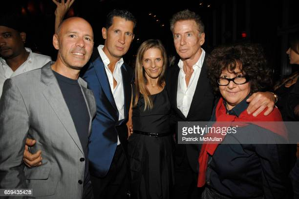 David Kuhn Stefano Tonchi Sandra Brant Calvin Klein and Ingrid Sischy attend The New York Times T MAGAZINE 5th Anniversary Party at Boom Boom Room on...