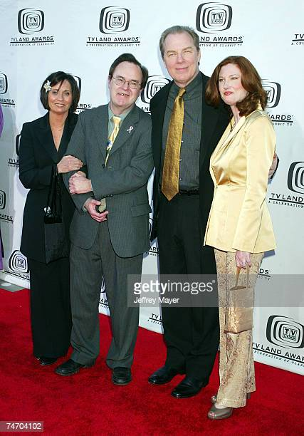 David L. Lander and Michael McKean and Annette O'Toole at the The Hollywood Palladium in Hollywood, California