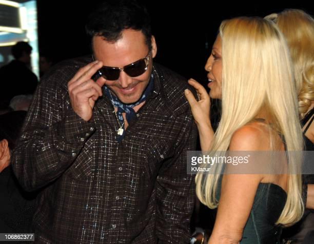 David LaChapelle and Donatella Versace *EXCLUSIVE*