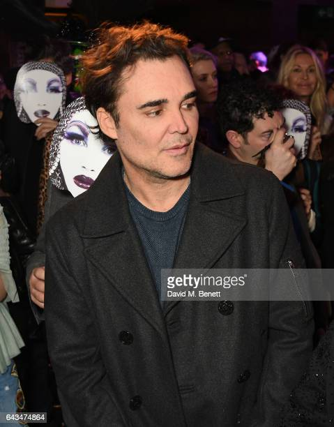 David LaChapelle attends the launch of Daniel Lismore's new book 'Daniel Lismore Be Yourself Everyone Else Is Already Taken' at The London EDITION on...