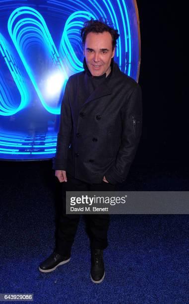 David LaChapelle attends The Warner Music Ciroc Brit Awards After Party on February 22 2017 in London England
