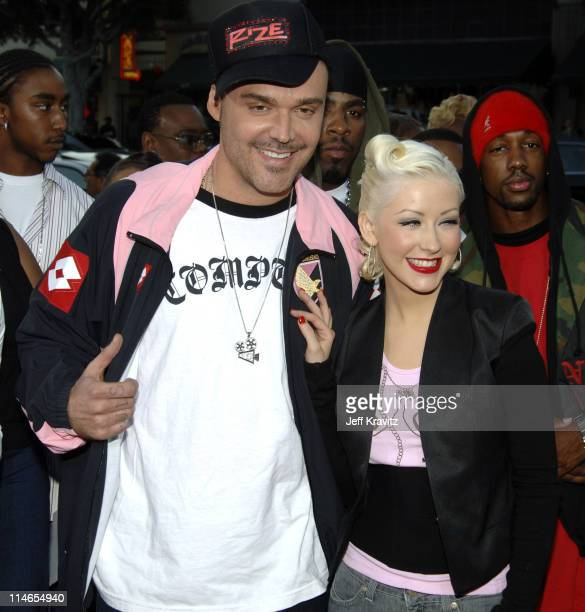 David LaChapelle director of Rize and Christina Aguilera